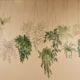 Fresque de plantes chez Bloom, restaurant sans gluten à Liège