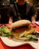 Burger végétarien L'interrogation à Fléron, Liège