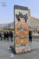 Vestige du mur de Berlin sur l'Alexanderplatz