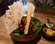 Première mise en bouche vegan au restaurant BOSQ à Texel