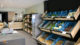 Intérieur de l'épicerie Pied à Terre à Liège