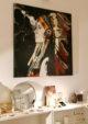 Peinture d'indien de Marie Bec à la galerie nomade L'appARTement édition 24