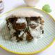 Recette vegan de pain pita aux falafels, légumes du Sud et sauce yaourt à la menthe