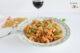 Recette vegan de pâtes au ragoût de saucisses Greenway et sauce Arrabbiata Chouke